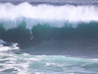 The Swell of the Year Hits the Middle of Nowhere