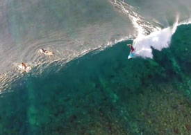 Mentawai Island from the top, drone video