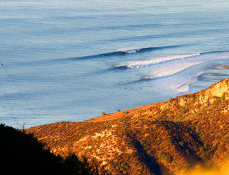 Biggest Swell in South California, Hurricane Marie