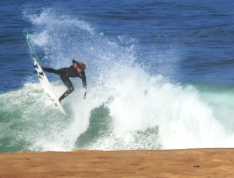 Surfing Shorebreak Tubes With John John Florence And Co.  Quiksilver Pro France 2014 Free Surf