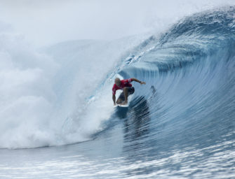 Kelly Slater claimed his 5th win at Tahiti and his 55th career CT victory