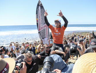 JORDY SMITH AND TYLER WRIGHT WIN HURLEY PRO AND SWATCH WOMEN'S PRO AT TRESTLES – WRIGHT RETAINS JEEP LEADER JERSEY HEADING INTO CASCAIS WOMEN'S PRO