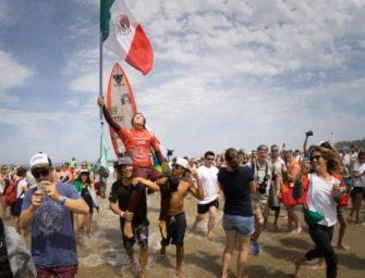 MEXICO'S JHONY CORZO CROWNED MEN'S ISA WORLD CHAMPION AT 2017 ISA WORLD SURFING