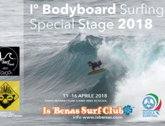 I° Bodyboard Surfing Special Stage Surf Camp 2018